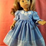 Платье для кукол Паола Рейна, Минуш.