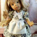 Платье для кукол Минуш.