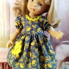 Платье для куклы Минуш.