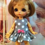 Платье для Баболек, Лати, Пукифи и БЖД малышек.