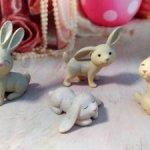 Кролики характерные.
