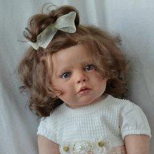 Маленькая сластена,моя кукла реборн Машенька. Автор Оксана Калиниченко