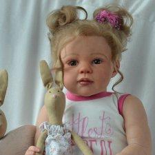 Моя нежная принцесса Аврора. Кукла реборн Оксаны Калиниченко