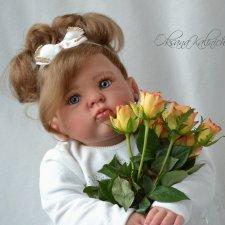 Любимая плюшка! Кукла реборн Настасья