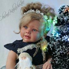 Золушка... Кукла реборн Оксаны Калиниченко