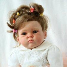 Милая и нежная Малышка Софи... Кукла реборн Оксана Калиниченко