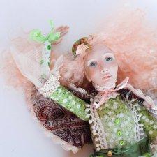 Авторская кукла Пегги Птицеловка