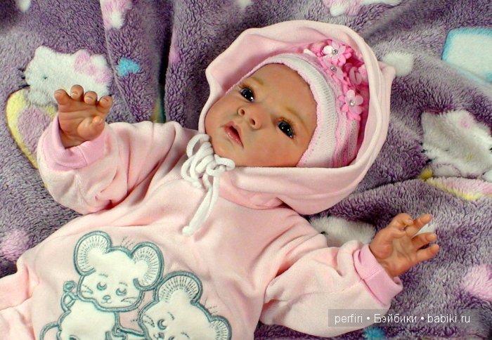 Кукла реборн Сабрина. Автор Ирина Перфилова (Perfiri).