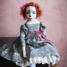 Саша, Александра, Шурочка. Авторская кукла