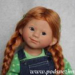Куплю парик для Вихтеля Wichtel из натуральных волос рыжего цвета р-р 8-9 без челки