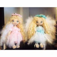 Ангел Аниэль. Кукла из ткани