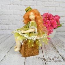 Ориана - золотая девочка. Авторская кукла ручной работы