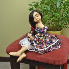 Грустная Лола. Моя первая авторская кукла