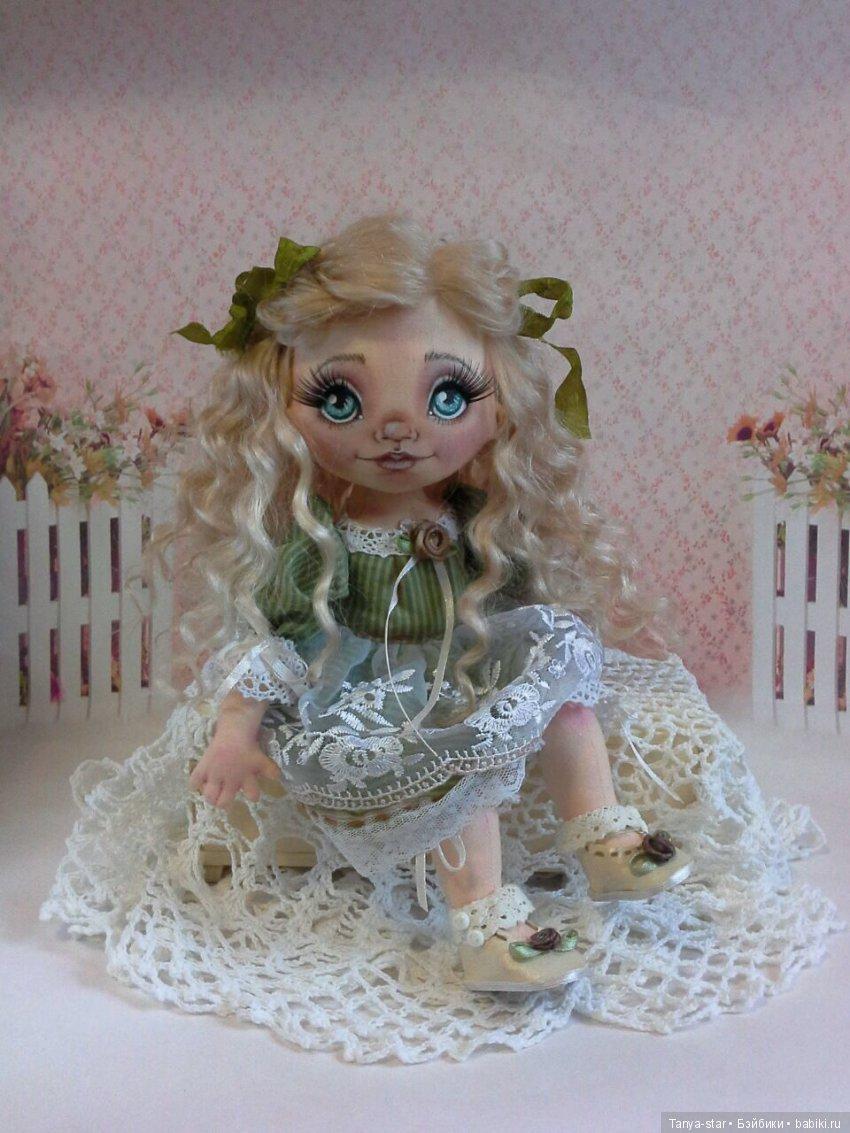 Татьяна Старичкова, текстильная кукла