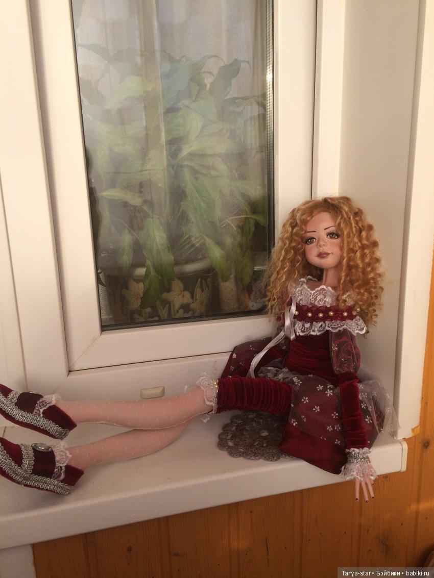 Татьяна Старичкова. Будуарная кукла.