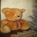 Мягкий друг - рыжий медвежонок, доставка в цене!
