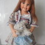 Аутфит на куклу 80 см.  Платье в подарок.