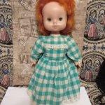Редкая мягконабивная кукла СССР