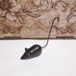 Мышка. Металл. Тяжеленькая