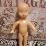 Вероятно паричковая кукла времен СССР