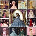 Crochet Collector costume. Исторические наряды для куклы Барби от Paradise Publications