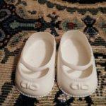 Обувь для кукол. По подошве 4,2 см х 2,5 см.