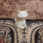 Фарфоровый котенок 6 см