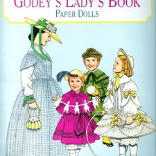 GODEY'S LADY'S BOOK PAPER DOLLS by TOM TIERNEY, 1997