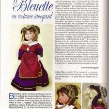 """Выкройка одежды для куклы  из журнала """"Ours & Poupées"""""""