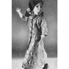 Пальто для куклы Bella