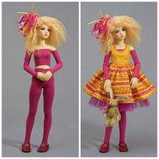 Выкройка костюмчика для куклы