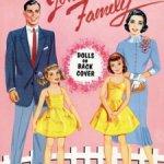 Бумажные куклы «Семья»