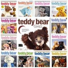Комплект журналов Teddy Bear Times & Friends разных годов. 20 шт. в PDF формате