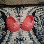 Обувь для куклы. Размер по подошве 4,2 х 2,5 см
