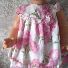 Платье редкое родное куклы Нюша Харьков