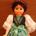 Кукла в национальном костюме Германии.