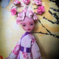 "Сакура - ""Оранжерея"". Шарнирная кукла"