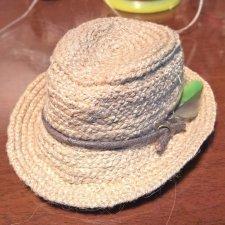 Мастер-класс: мужская плетёная шляпа