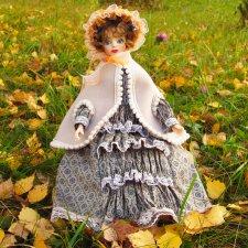Осенняя прогулка. Авторская кукла
