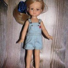 Джинсовая одежда и рубашки на мини-паолочек и кукол схожих размеров