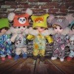 Новые теплые комплекты  для Лати,Пукифи и кукол схожих размеров