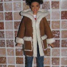 Джинсы,брюки и дубленка для Барби