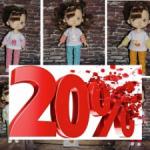 -20% Весенняя распродажа! Одежда для Xiaomi monst  и кукол со схожими размерами