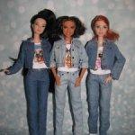 Джинсовые куртки, юбки, джинсы для Барби петит, пышки,йоги.
