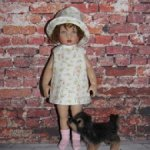 Обновление от 15.04.Летние платья и шляпки для Monst и  Райли от Хелен Киш