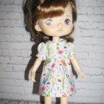 Платье для кукол Monst 20 см и схожих кукол