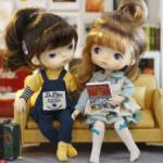 Оригинальные аутфиты Monst doll 20 см