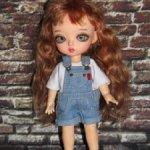 Комбезы, джинсы и шортики  для Lati/Meadowdoll twinkles/pukiFee и кукол схожих размеров