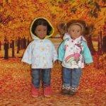 Новые расцветки! Курточки для Лори и Американ Гирл 16 см