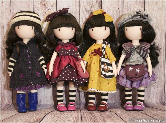 Gorjuss Of Santoro, Toadstool, Поганка, Lady Bird, Божья Коровка, Little Violet, Маленькая фиалка, The Pretend Friend, Вымышленный друг, Paola Reina